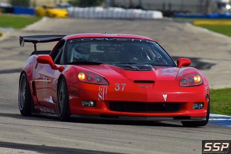 Chevrolet Corvette Apr Performance Gtc500 C6 Bodies Spec Rear Wing