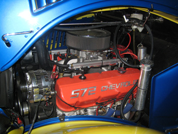 MASS AIR fuel injection system Chevy Chevy 348 and 409