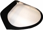 Optic Armor Performance Front Windshields 05-13 Corvette Drop In Black Outs