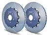 Girodisc Frt 2pc Rotors C7 Z07/C6 ZR1 w/ OEM CCM Rotors