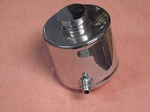 Polished Alloy Power Assisted Steering Tank
