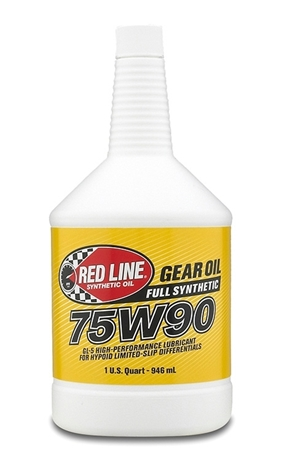 Red Line's 75W90 (57904) synthetic Gear Oil