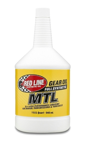 Red Line's MTL 70W80 GL-4 - ( 50204) Synthetic Manual Transmission Lubricants
