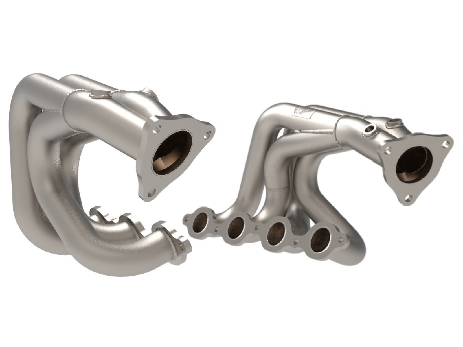 Corvette (C8) 2020 V8-6.2L Twisted Steel 304 Stainless Steel Headers  48-34148