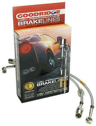 12290 Goodridge 05 -13 Corvette C6 Brake Lines