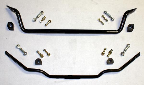 1997-2013 Corvette ZO6/Z51/C6 25.4mm(1.0) Rear & 35mm (1 3/8) front Adjustable sway bars