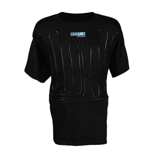 1012-2021 BLACK COOL WATER SHIRT