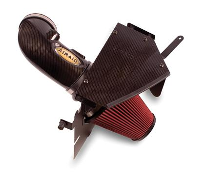 Airaid 09-14 Cadillac CTS-V/ 11-14 Coupe 6.2L CAD Intake System w/Carbon Look (Dry / Red Media)