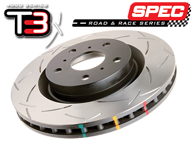 4650SR 13+Scion FR-S / 13+ BRZ Premium Front Slotted 4000 Series Rotor Front-Right