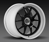 Forgeline GA3R 18x10.5  Cup Car Center Lock with Satin Black Center and Super Wet White Inner & Outer