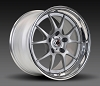 Forgeline GA3R 18x10.5  Dual Pattern (Center Lock/5-Lug) Matte Silver