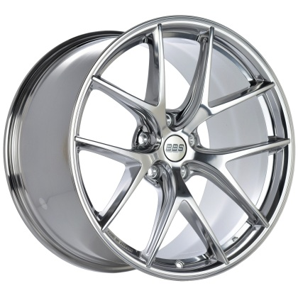 C8 Corvette BBS CI-R 20x11.5 5x120 ET52 Ceramic Polished Rim Protector Wheel -82mm PFS/Clip Required bbsCI0801CP