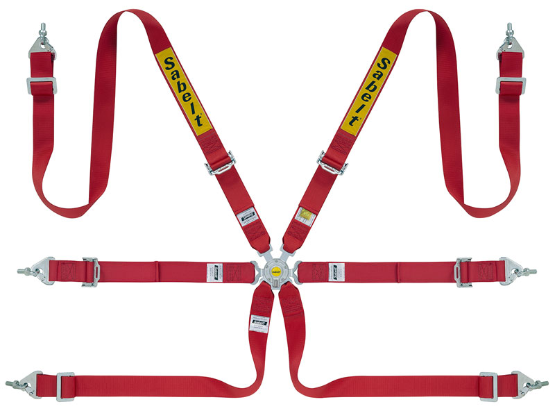 Sabelt Steel Series (CCS622) Saloon 2x2 FIA Harness, Pull Up