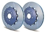 A1-117 Girodisc Front 2pc Floating Rotors for Chevy Corvette C6 ZO6