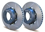 D1-032 Girodisc Rear 350mm 2-piece Rotor Upgrade for Porsche 997 C2S/C4S