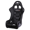 HA/771E OMP HTE-R XL Racing Seat (HA/771E) Wider and taller profile for larger drivers.