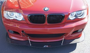CW-543603 1992-99 BMW M3 E36 Front splitter by APR Performance